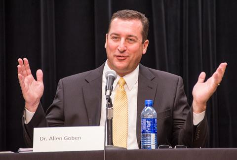 Dr. Allen Goben, NE Campus President