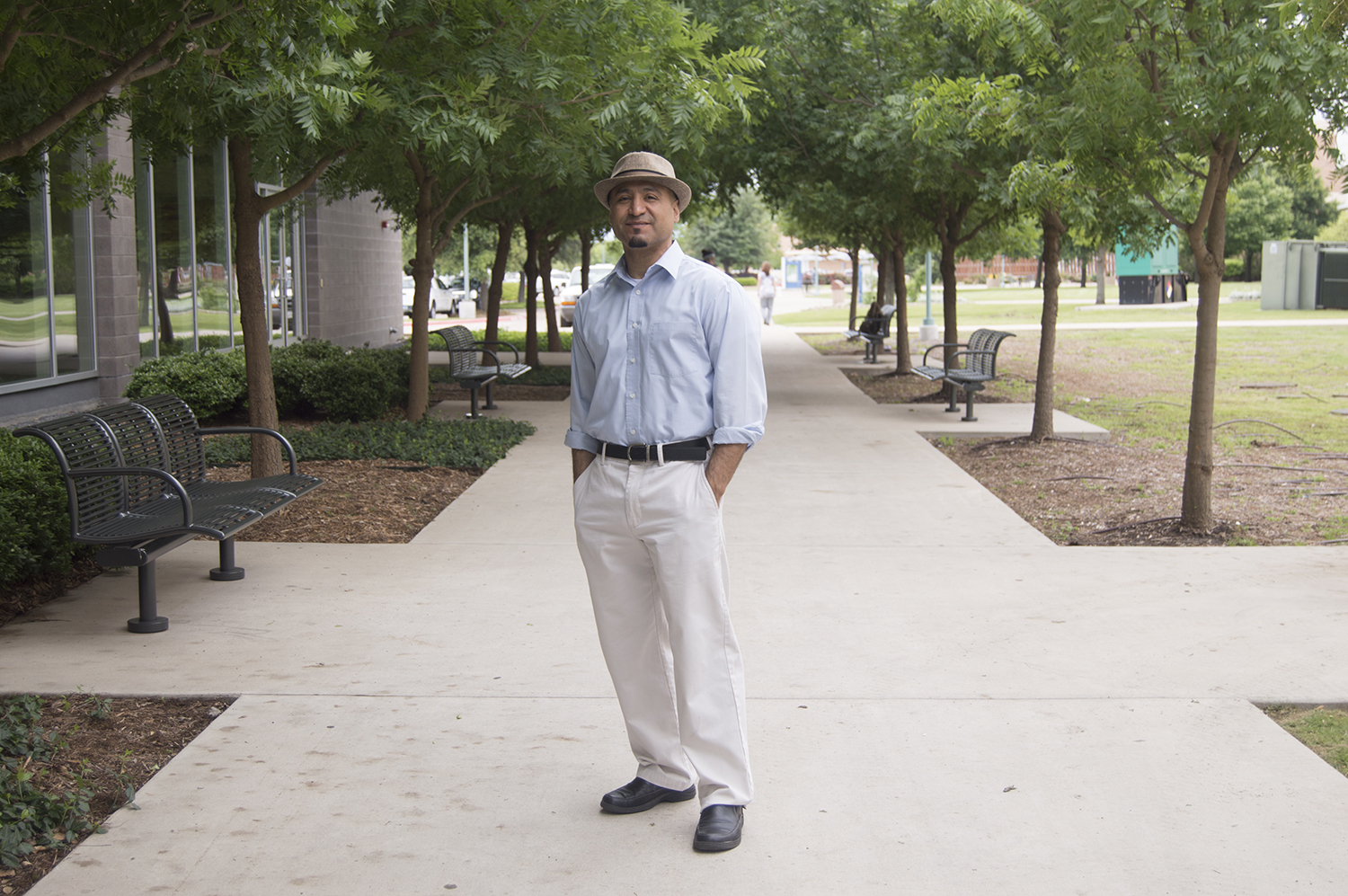 SE history associate professor Joel Tovanche implements his family's deportation into his teaching.  Photo by Linah Mohammad/The Collegian