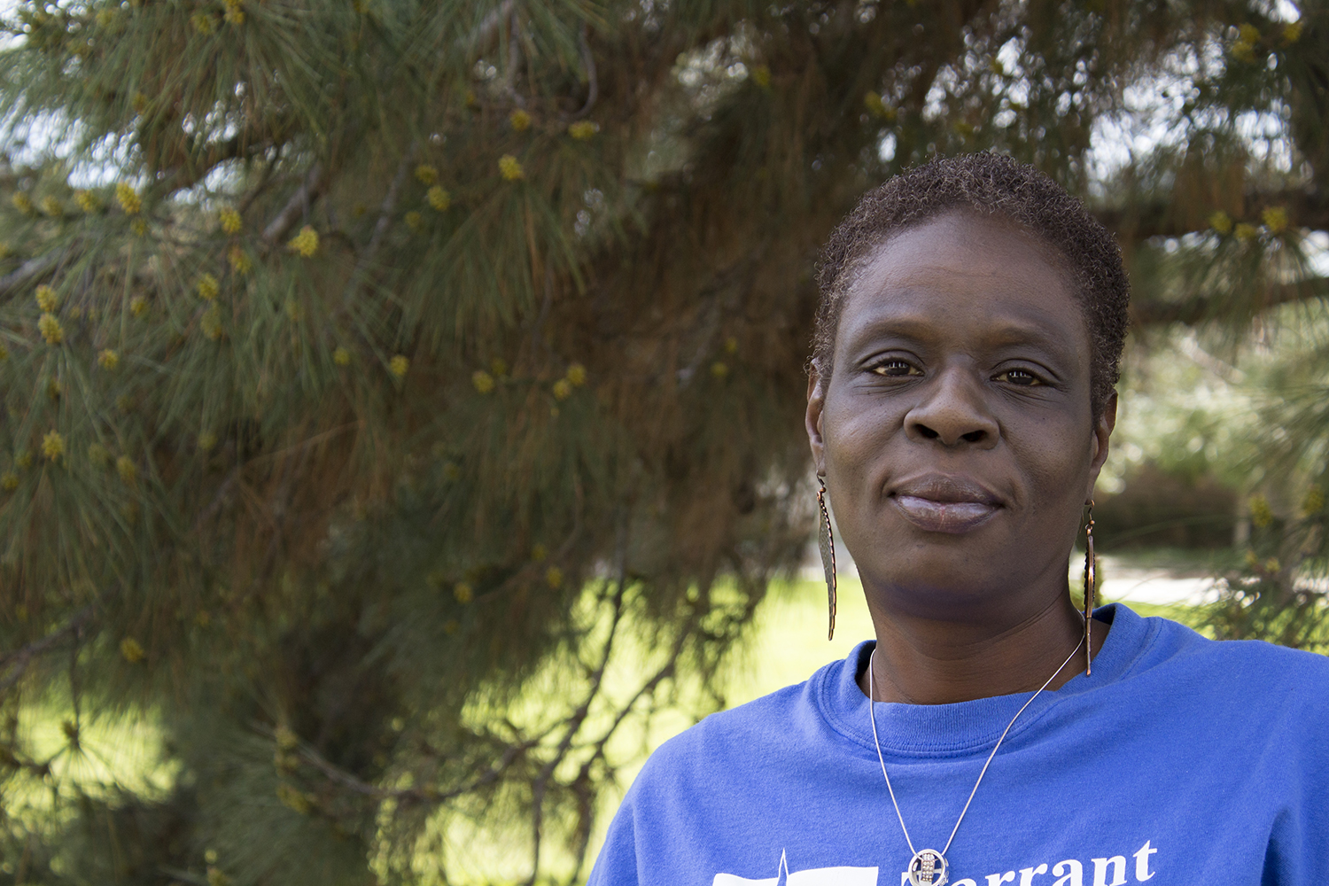 LaDoris Pope Photo by Katelyn Townsend/The Collegian
