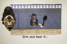 Grin and bear it ..., Vicki Meek