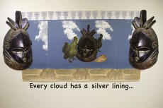 Every cloud has a silver lining ..., Vicki MeekPhotos by Anthony White/The Collegian