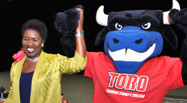 Toro mascot, Northeast Campus, NE