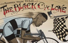 "Marshall ""Major"" Taylor was an African-American cyclist who overcame discrimination and won the world one-mile track cycling championship in 1889.Photos by Bogdan Sierra Miranda/The Collegian"