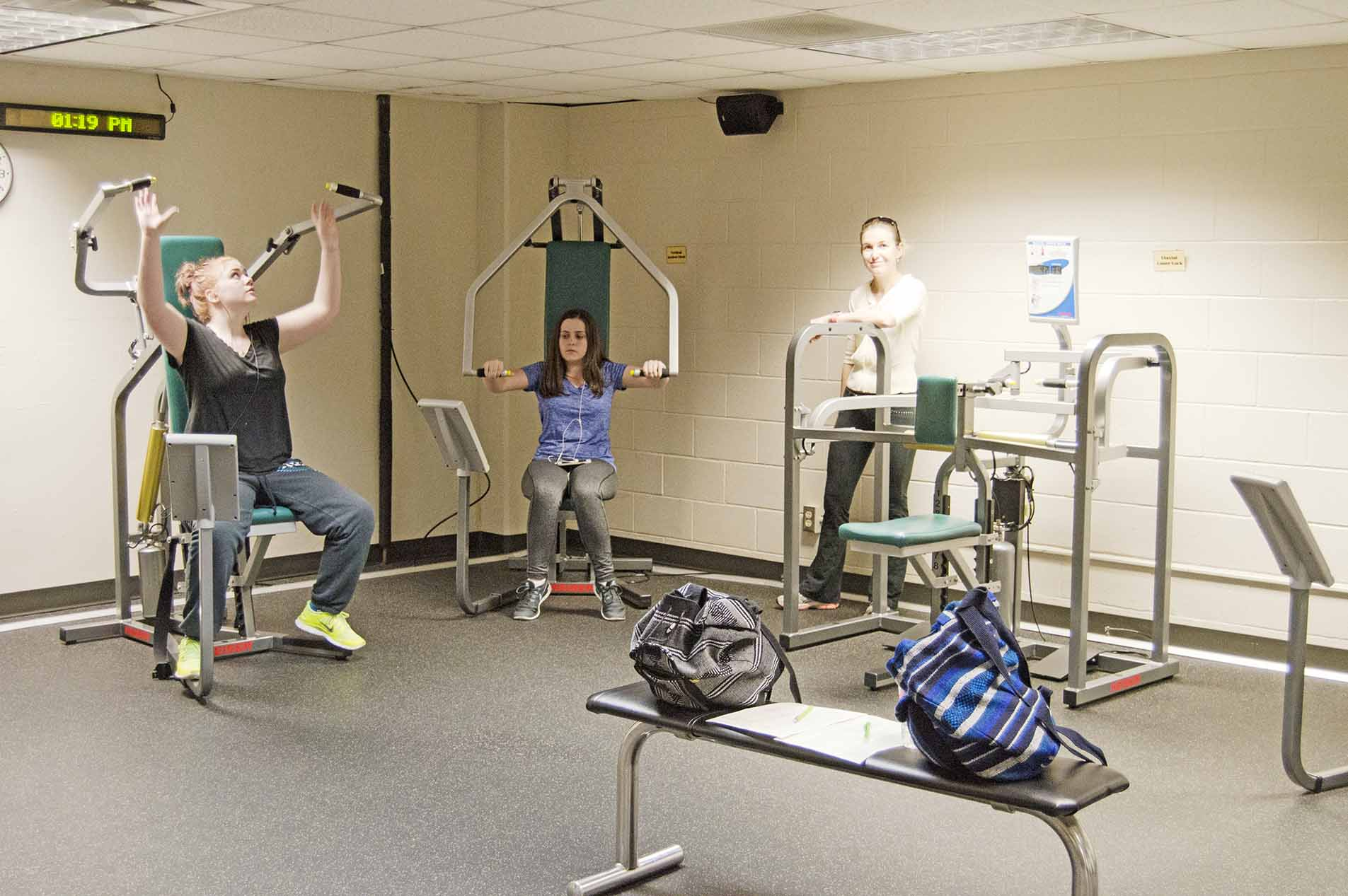 Workout spaces give many activities - The Collegian