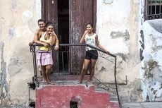 Family, Santiago de Cuba, July 2016, Patricia D. Richards