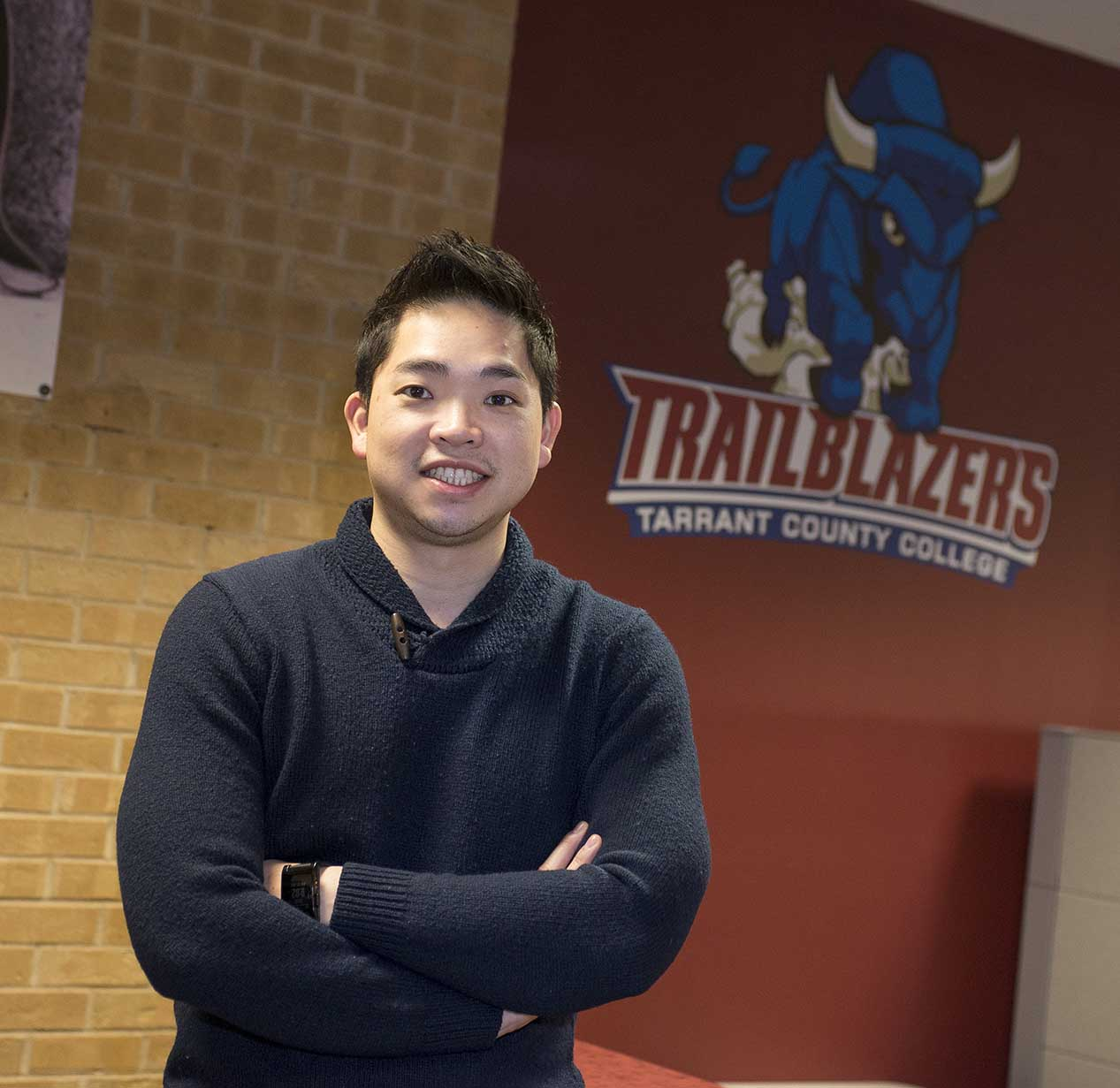 NE Campus introduced a new director of recruitment, former TCC student Martin Pham, at the Feb. 23 board of trustees meeting.
