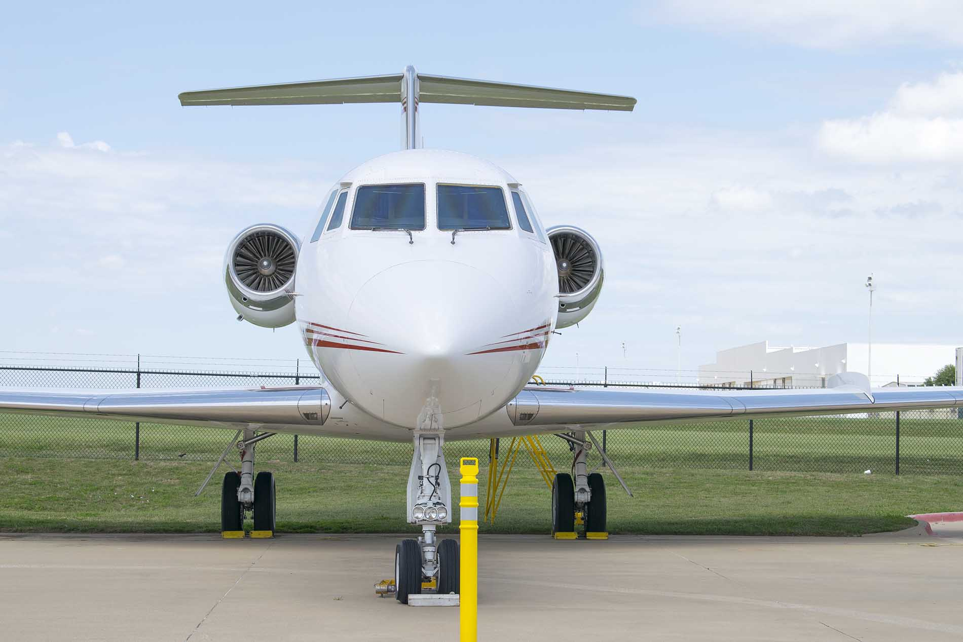 The G-II plane was built in 1979 and was owned by multinational oil service corporation Halliburton.