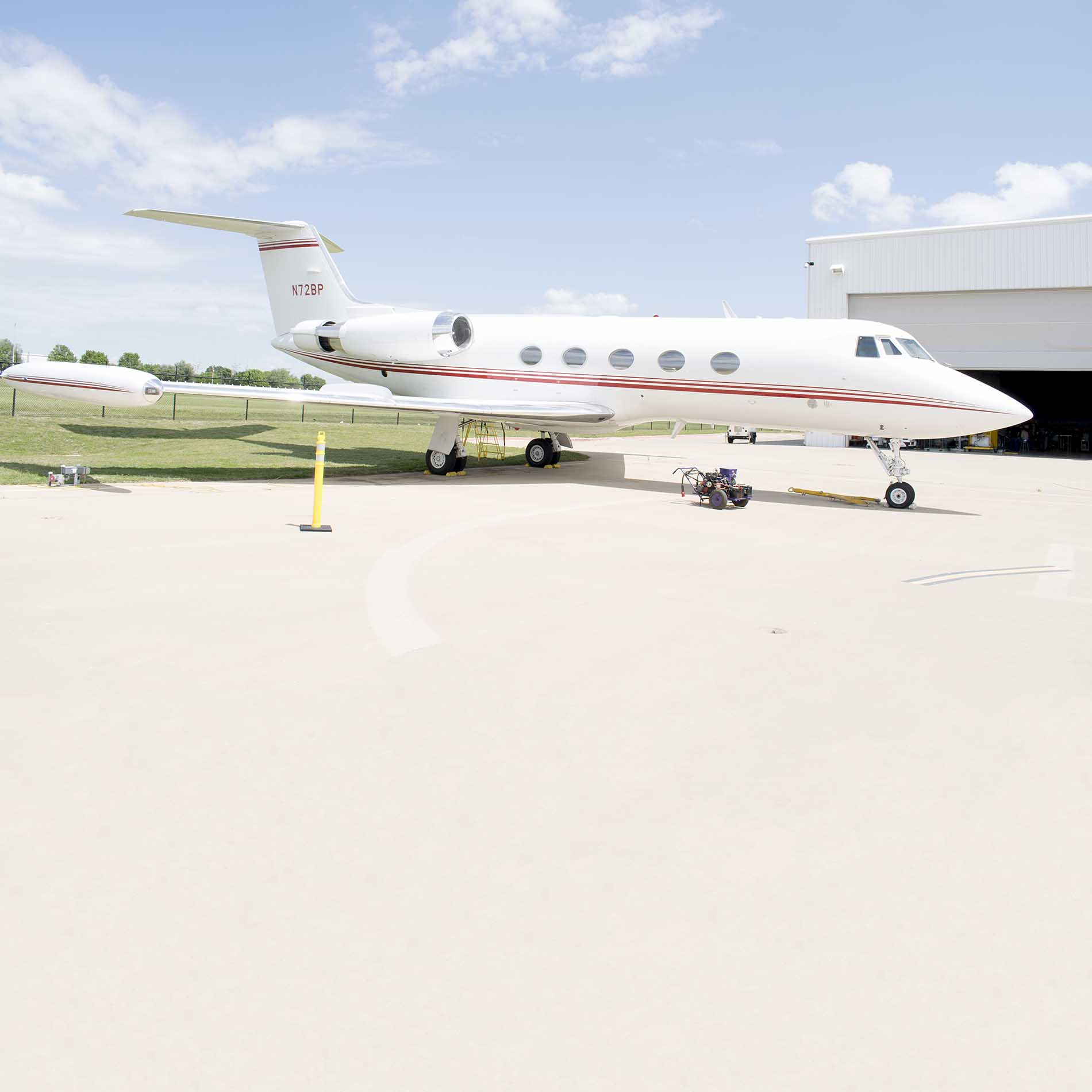 NW Campus' aviation program was donated a Gulfstream G-II airplane that once flew former Vice President Dick Cheney and others.