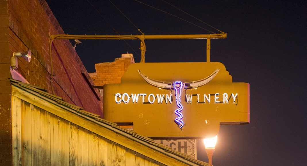 Cowtown Winery is where the ghost tours of the Stockyards originate. However, the wine isn't the only spirit inside.