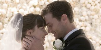 Anastasia Steele (Dakota Johnson) and Christian Grey (Jamie Dornan) tie the knot in the third film of the Fifty Shades series. This film wraps up the trilogy that brought BDSM to the big screen and snagged mainstream attention.