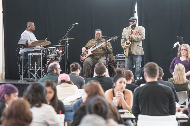 Linny Nance & Network brings the rhythm, grooves and jams to TR Campus Feb. 13 for Black History Month.