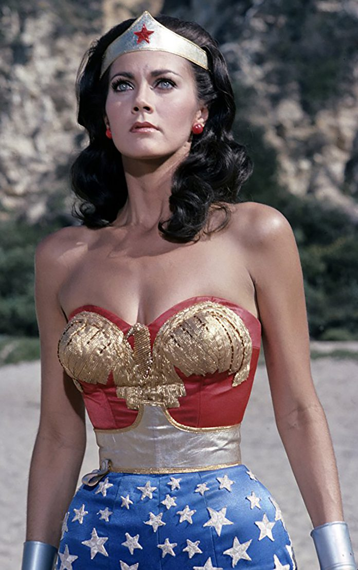 Lynda Carter played the original Wonder Woman on television.