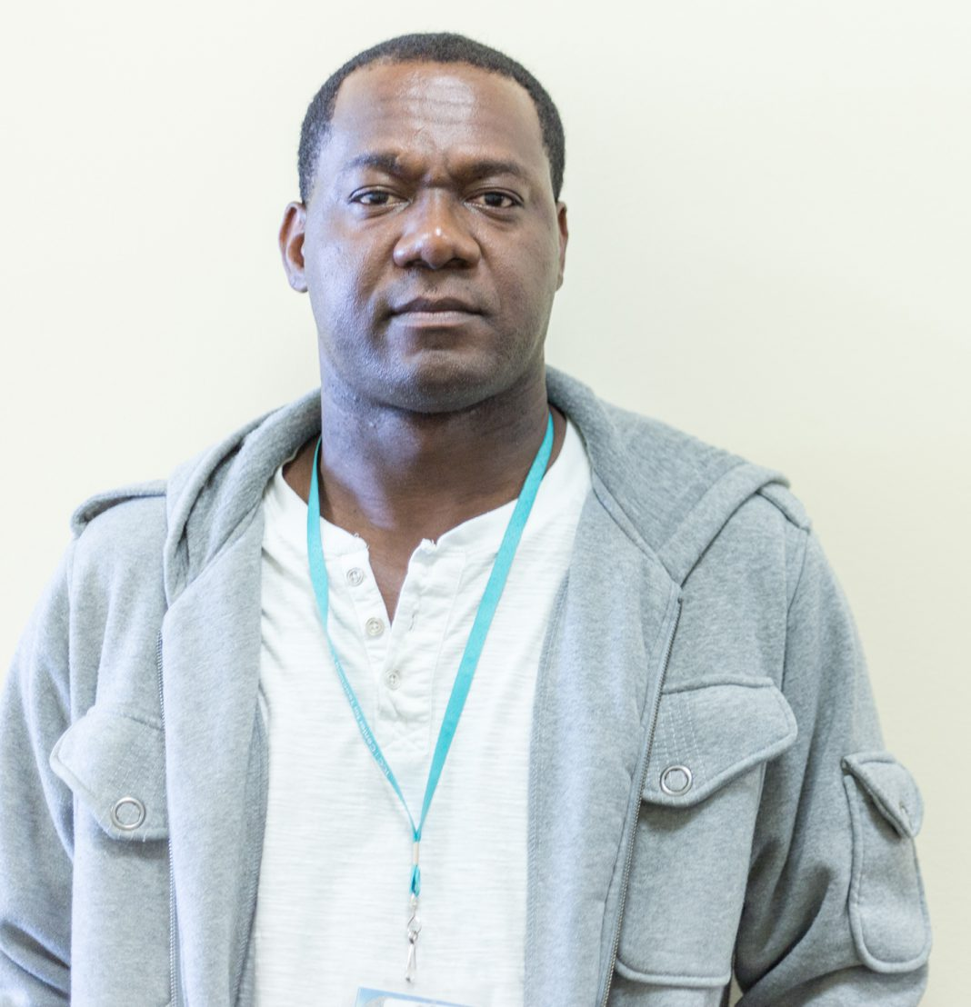 TR instructor Sheldon Smart was born in Trinidad and Tobago and immigrated at 22 to continue his education.