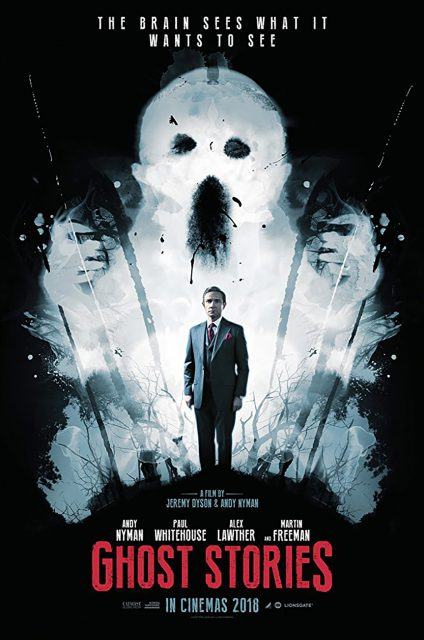 Ghost Stories started a limited theatrical release April 20 and is also available on-demand.
