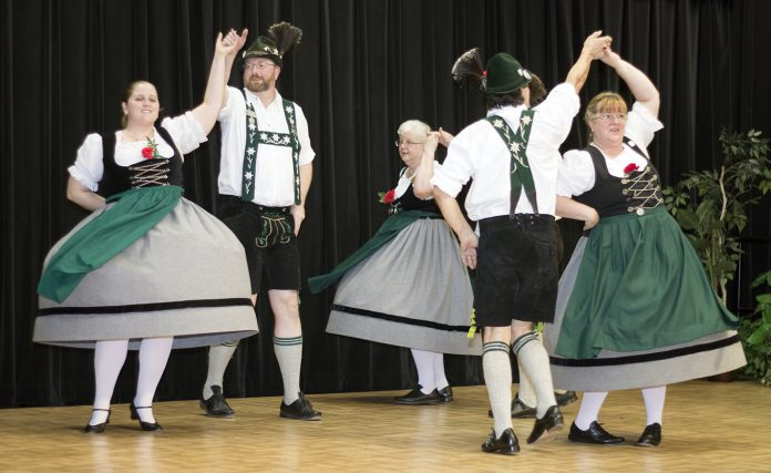 A traditional German dance group performs at the International Festival on NE Campus in spring 2016. The celebration will feature dance showcases and the campus' annual Spring Fest into a two-day event.