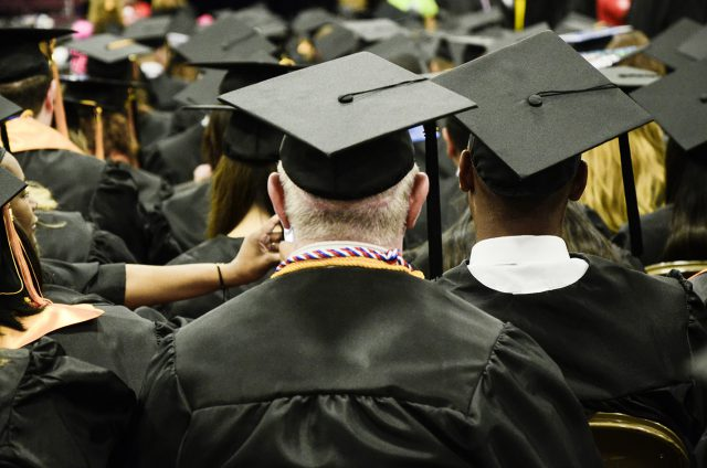 TCC's 2018 commencement ceremonies will be held at 1 p.m. and 3 p.m. May 12 at the Fort Worth Convention Center. Graduates have until May 4 to apply to participate in the ceremonies.