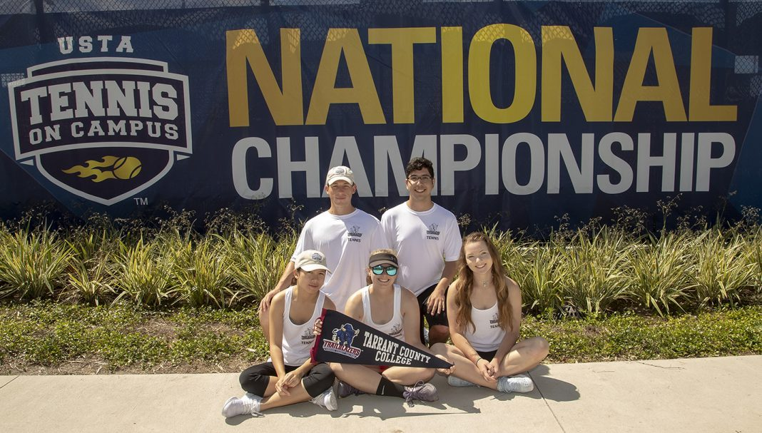 NE's tennis club played in the 2018 Tennis On-Campus National Championship April 12-14 in Florida. TCC and TCU represented Fort Worth in the tournament and faced off in the final match, which TCC lost 27-21.