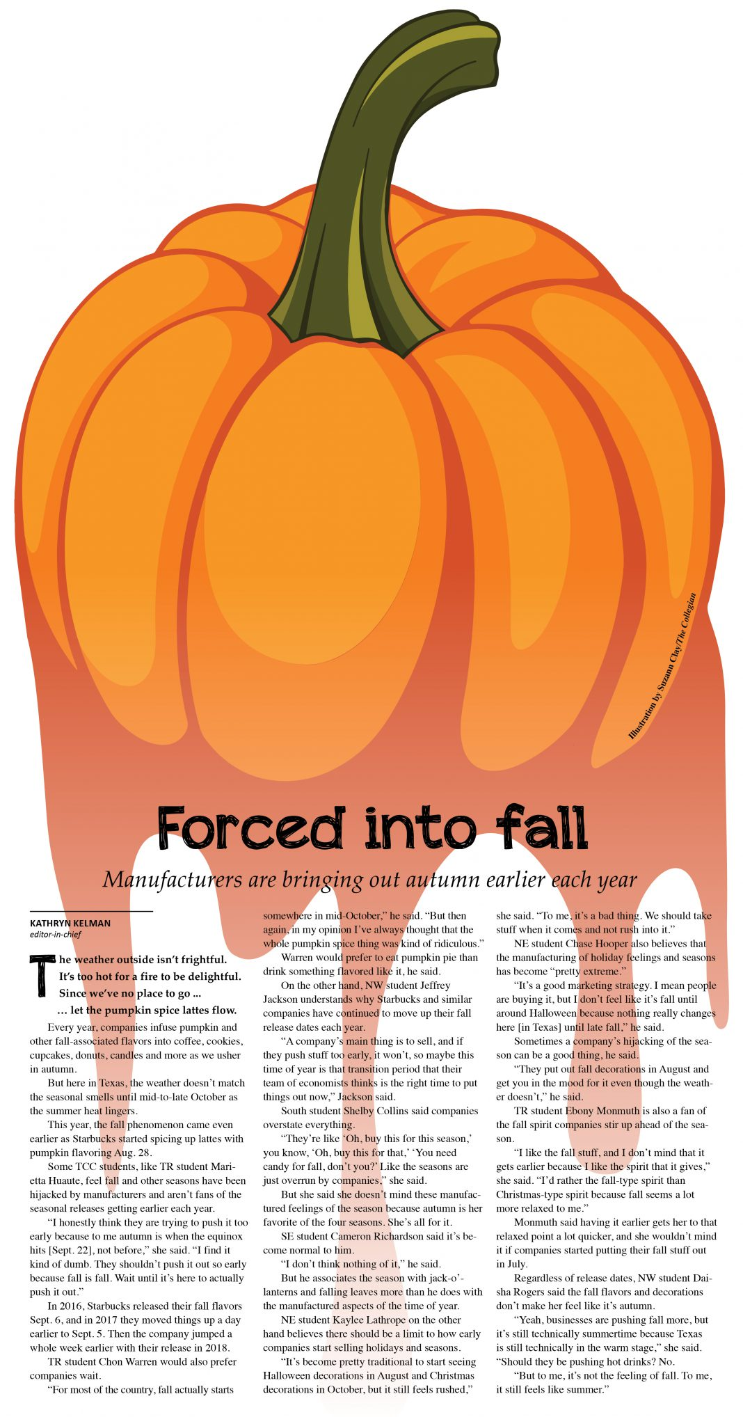 Illustration by Suzann Clay/The Collegian