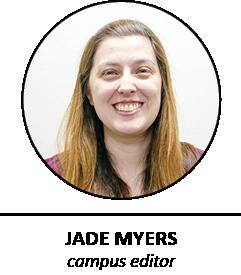 Jade Myers/campus editor