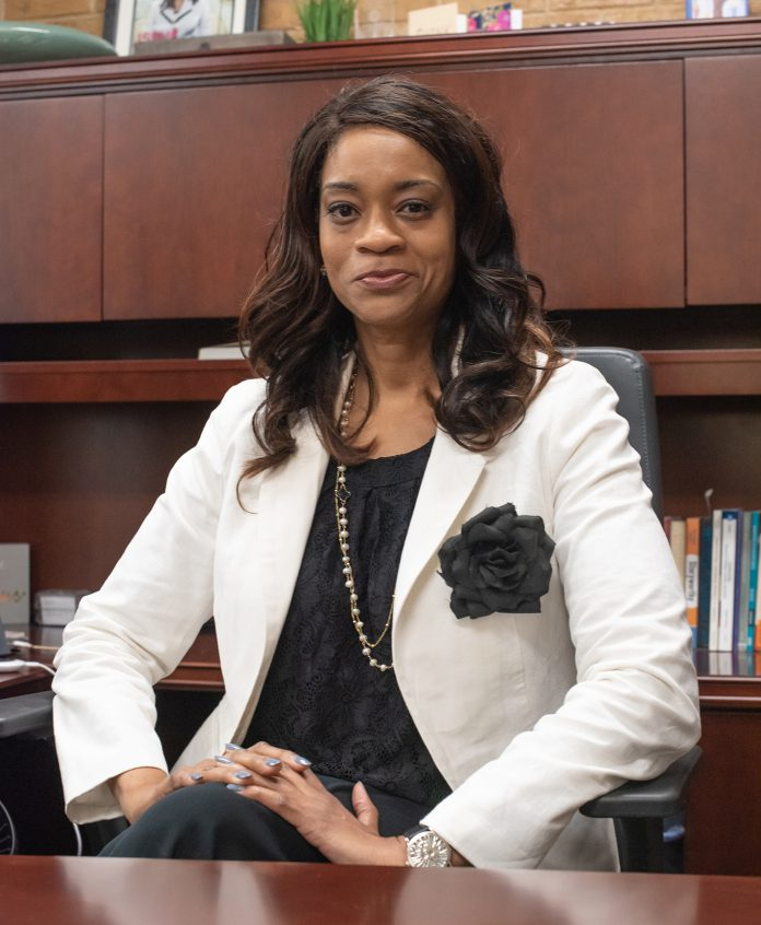 Kenya Ayers began her tenure as NE Campus president July 1. She came to TCC from a Chicago area community college. Joseph Serrata/The Collegian