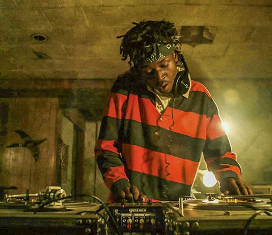 Bobby Diggs searches for samples to use for future Wu-Tang demo tapes. Played by Ashton Sanders, he later becomes RZA, the leader of the 10-man rap group. Photo Courtesy Imagine Television