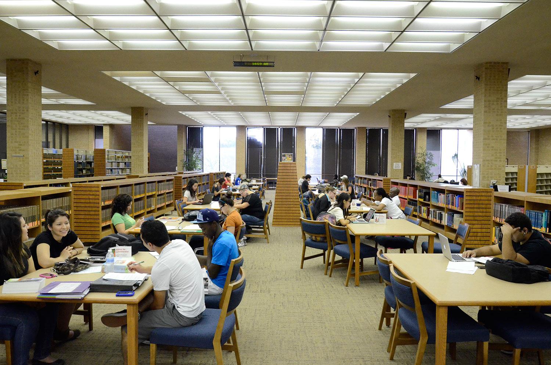 University Of Portland Library Study Room