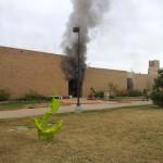 NE Campus Fire