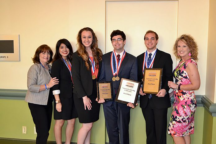Business Professionals of America students competed at the National Leadership Conference in May and took home top honors in several categories.
