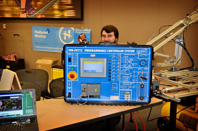 Among many of the creations attendees can see at the conference is a programmable controller system. TR Campus will host this year's Fab Now conference Feb. 16-17.