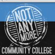 #NotAnymore is a Title IX link accessible through myTCC to a video on sexual harassment and assault.