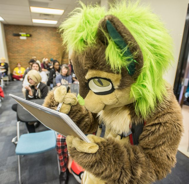 Attendees were encouraged to dress up as their favorite anime or video game characters during the two-day convention on South Campus.