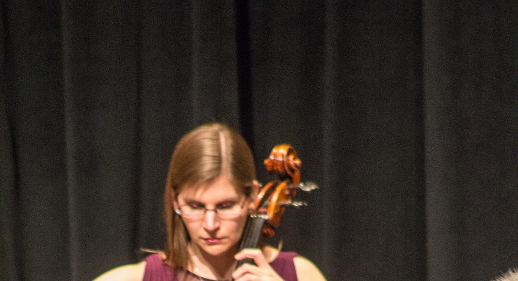 Cellist and Ohio native Keira Fullerton is the third member of the Yellow Rose Trio.