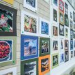 The student-submitted photos for the PICS photo contest hang in the art space of the Walsh Library on NW Campus. The winners were announced April 30, and the winning photos will remain hanging in the library until the end of the semester.