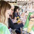 South student activities hosted The Little Art Bus on campus for a guided painting class inspired by Frida Kahlo's works Oct. 11 as part of Hispanic Heritage Month.