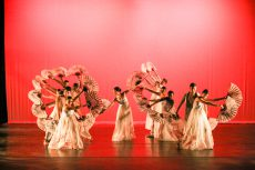 """NE Movers Unlimited was selected to perform their Korean fan dance piece, """"㆟[in]; human,"""" on Nov. 11 at the Palm Desert Choreography Festival in California."""